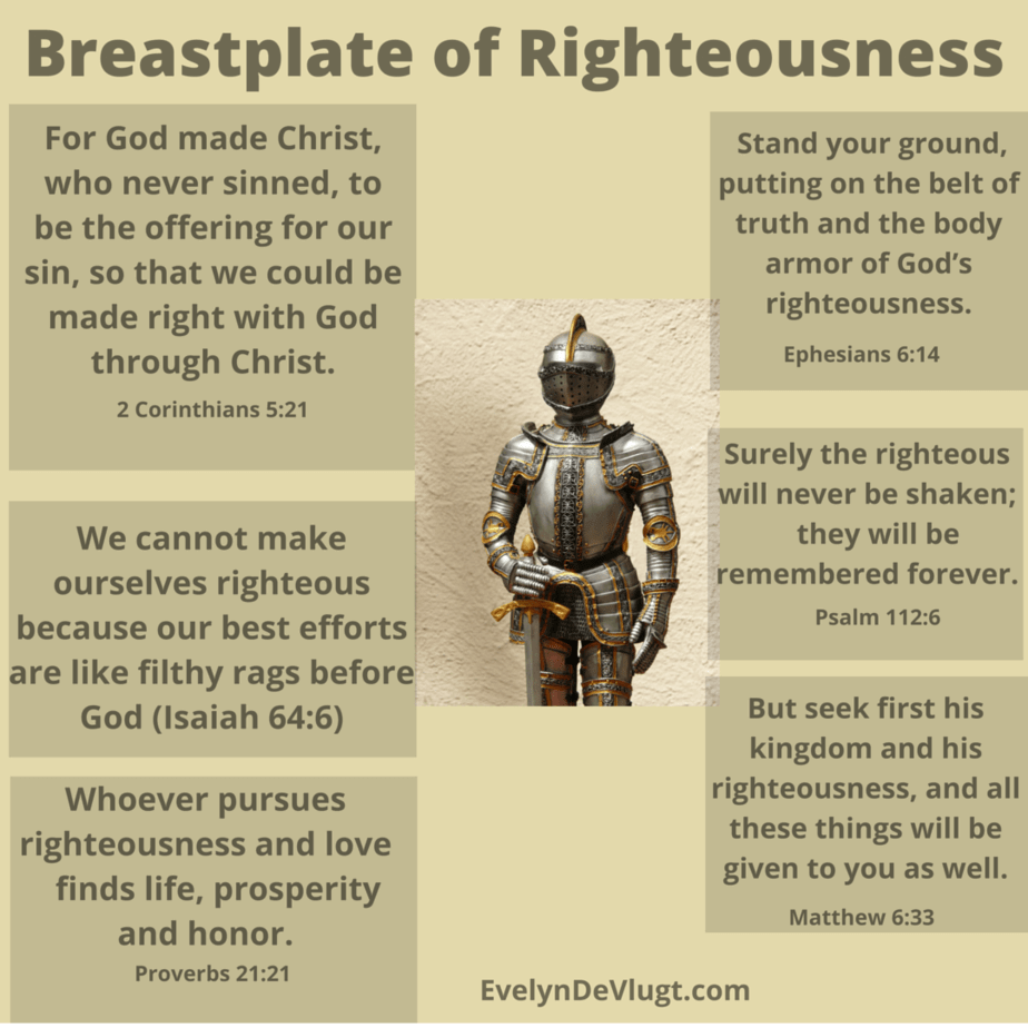 The Breastplate of righteounsess